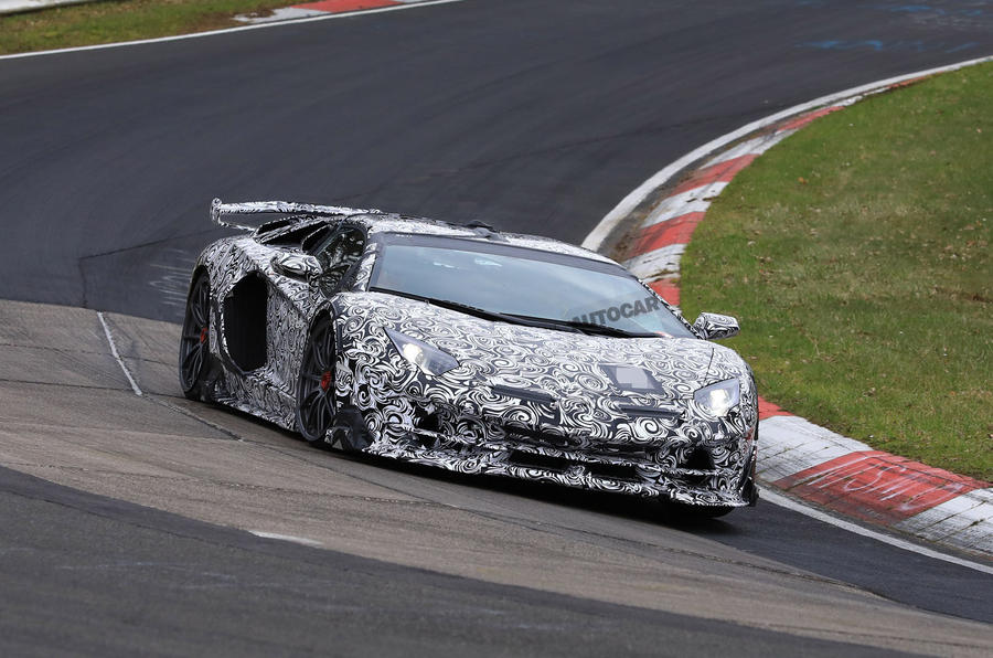 Lamborghini Aventador Svj Revealed Ahead Of Pebble Beach