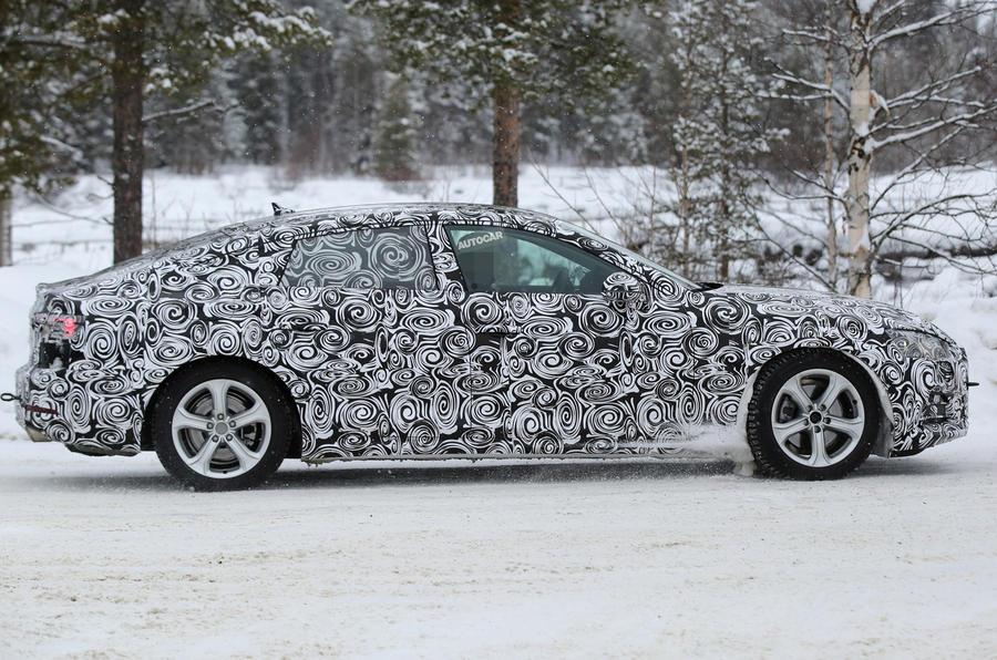 2017 Audi A5 Sportback spy shots