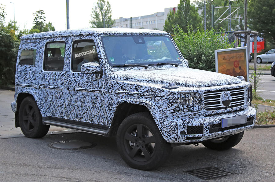 Кубик Mercedes-Benz G-Class 2018 (Spy Photos&Videos)
