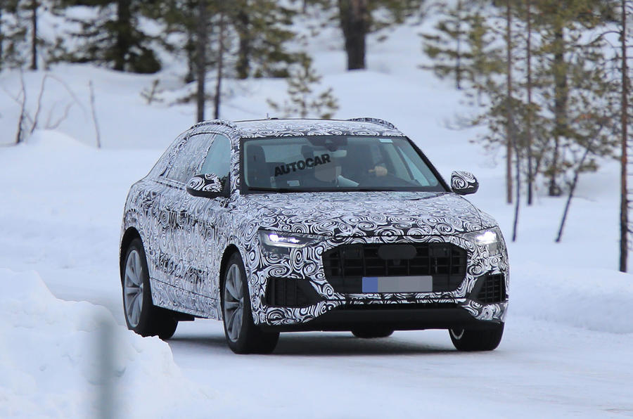 2018 Audi Q8 - new pics of flagship