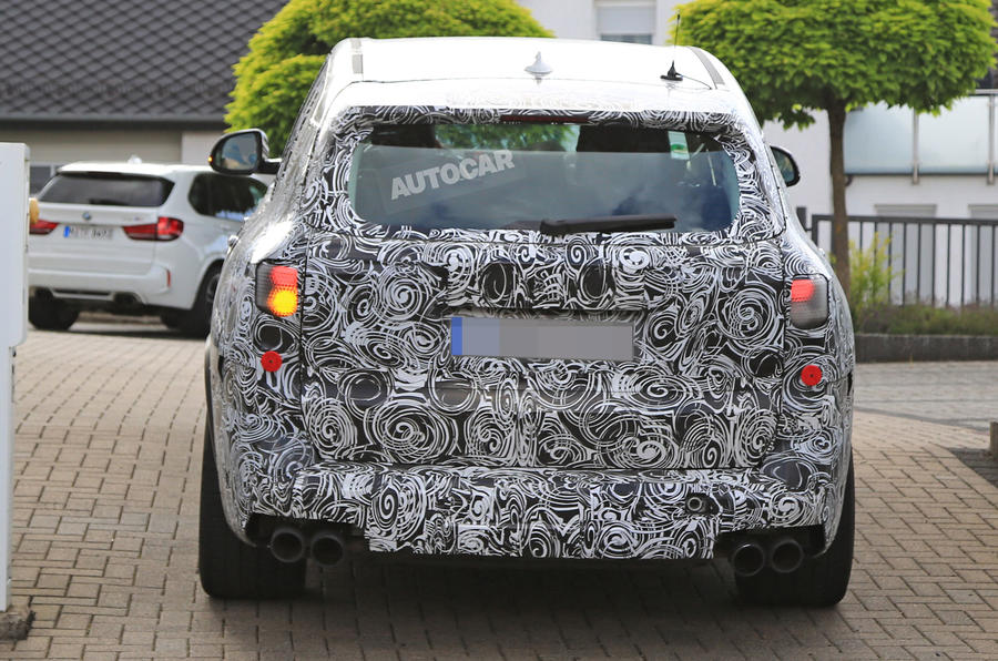 Next BMW X5 spotted - 600bhp BMW X5 M tests at Nürburgring