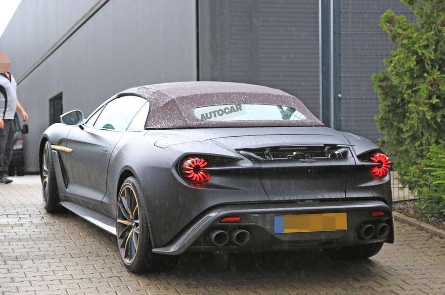£1.3m Aston Martin Vanquish Zagato Volante spotted testing