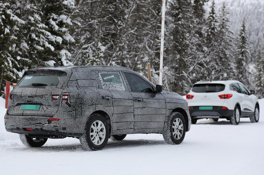 2017 Renault Koleos spy shots