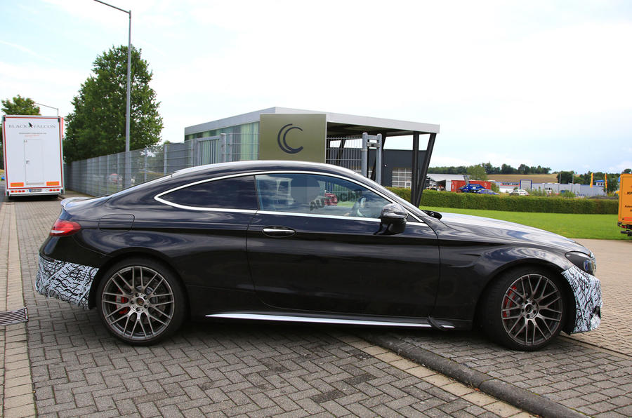 mercedes amg c63 and c63 coup to get new cabin tech in 2018 autocar. Black Bedroom Furniture Sets. Home Design Ideas