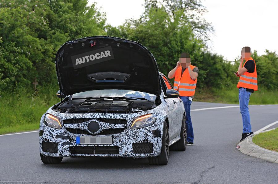 Mercedes E 63 spy