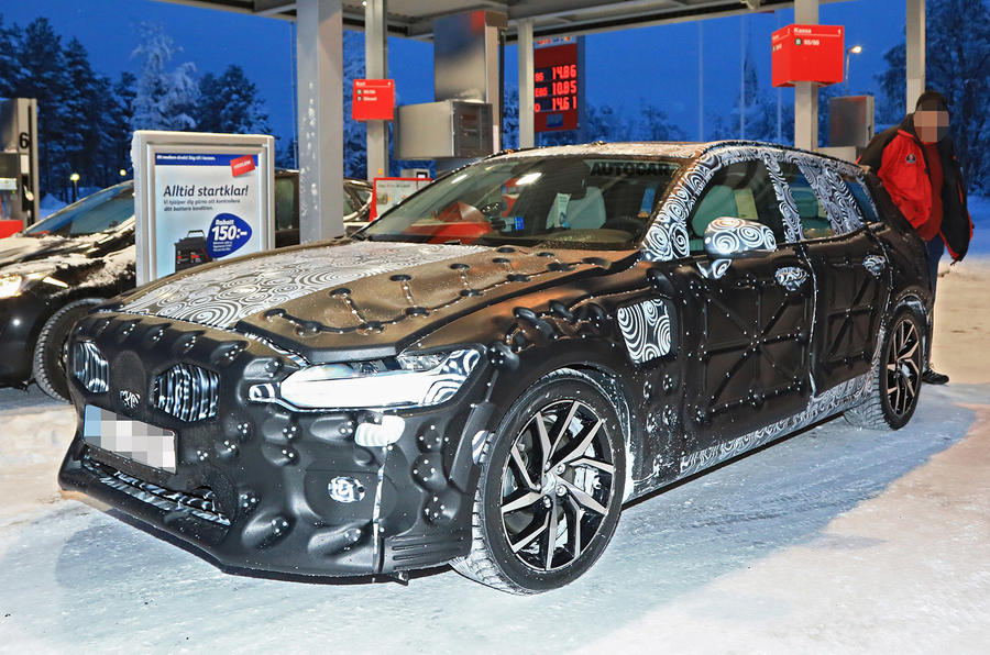 new volvo s60 leaked ahead of summer reveal autocar. Black Bedroom Furniture Sets. Home Design Ideas