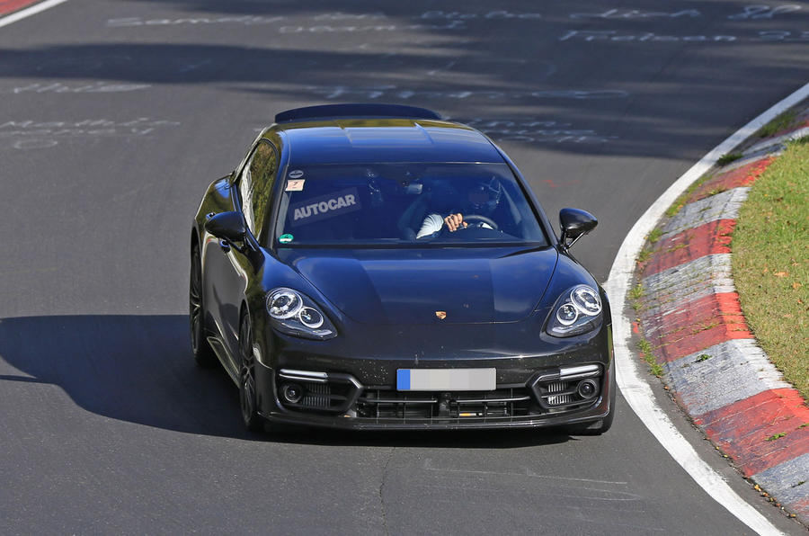 2017 Porsche Panamera Sport Turismo spotted at the Nüburgring