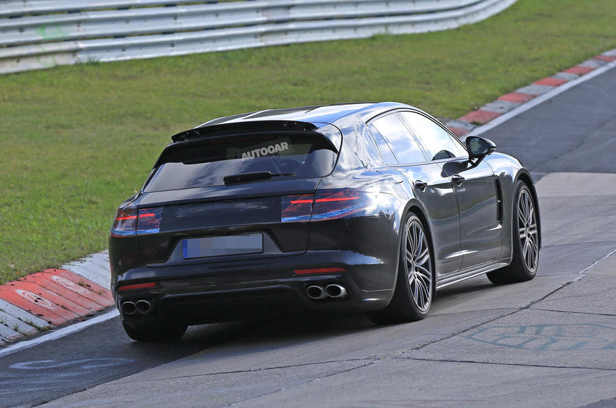 ... 2017 Porsche Panamera Sport Turismo Spotted At The Nüburgring ...