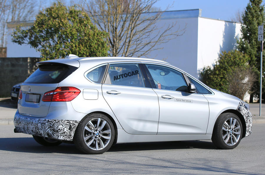 bmw 2 series active tourer facelift due next year autocar. Black Bedroom Furniture Sets. Home Design Ideas