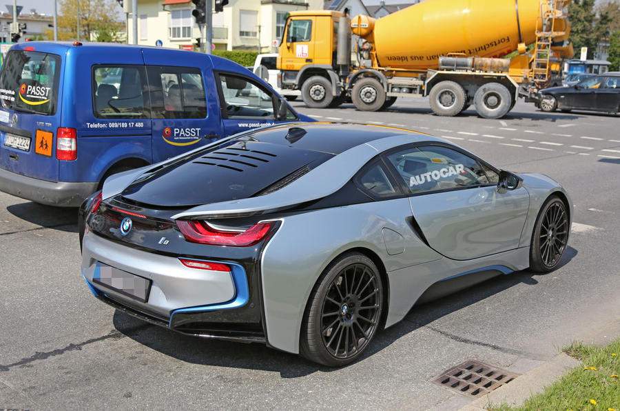 Ramp For Car >> All-electric BMW i8 in the works | Autocar