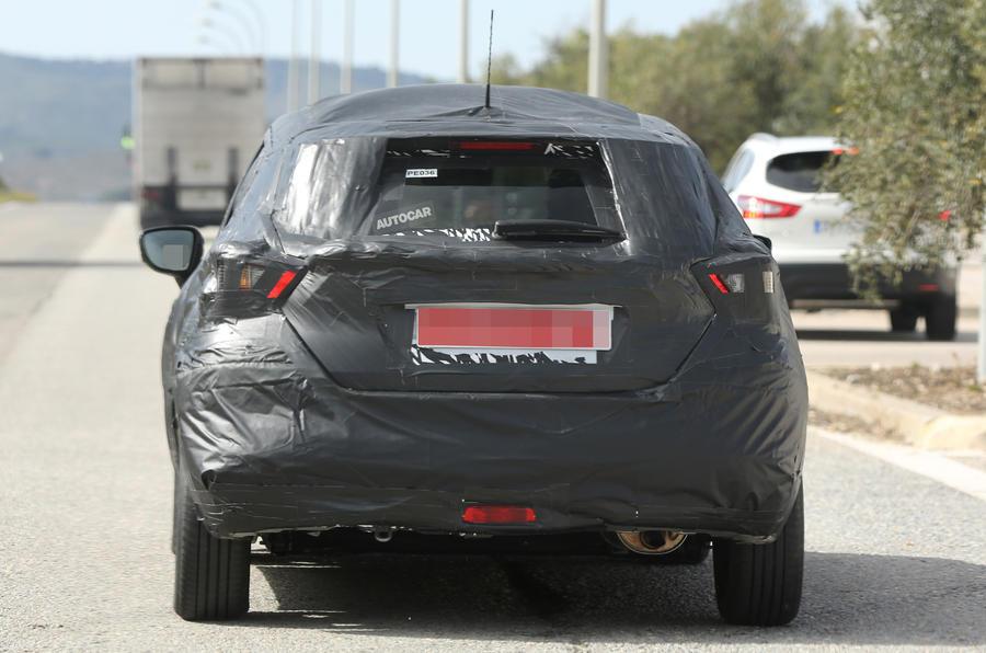 Nissan Micra spy shots