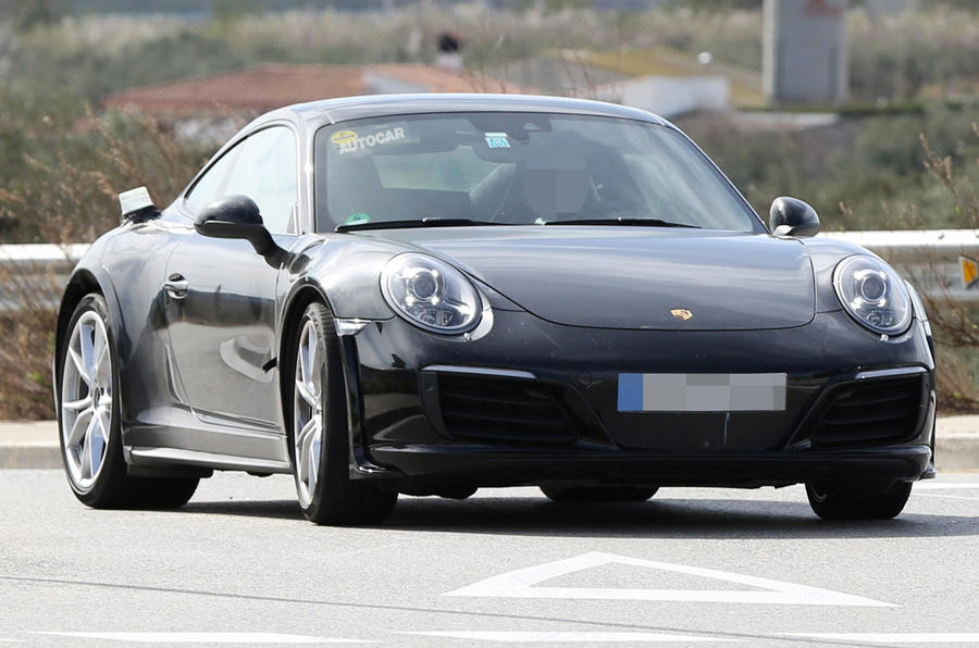 Next Porsche 911 spotted testing at Nürburgring