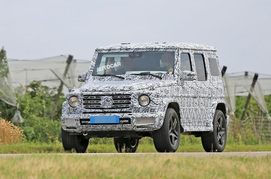 2018 Mercedes Benz G Class Leaks Ahead Of Detroit Motor Show Debut