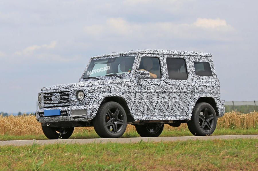 2018 mercedes benz g class 4x4 pick up variant spotted autocar. Black Bedroom Furniture Sets. Home Design Ideas