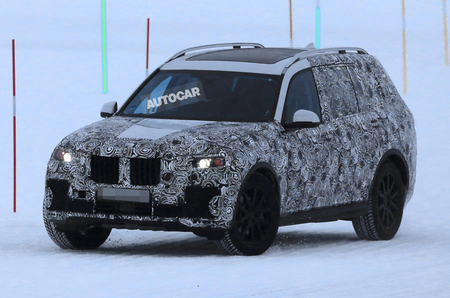 2018 BMW X7 - clearest glimpse of future Range Rover rival