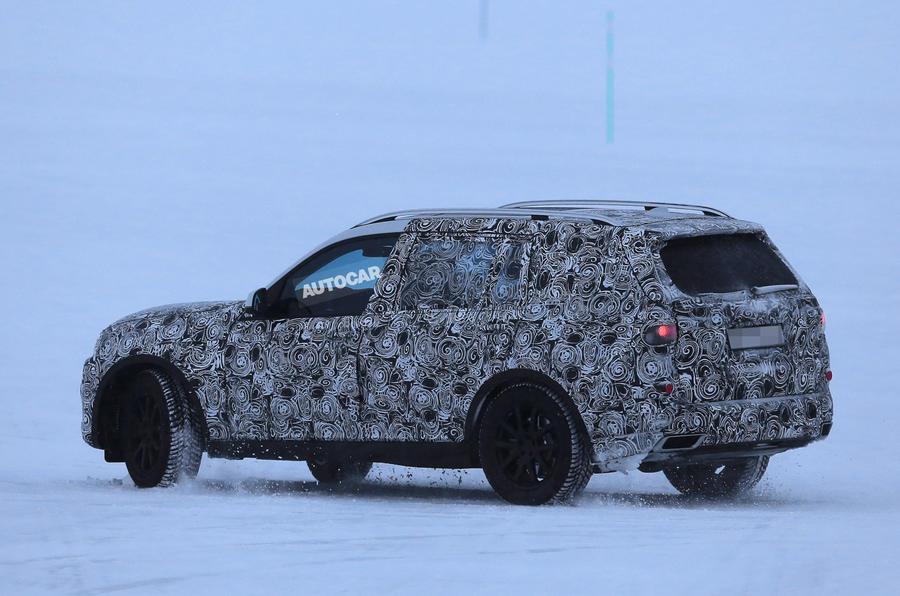 2018 BMW X7 - clearest glimpse of future Range Rover rival