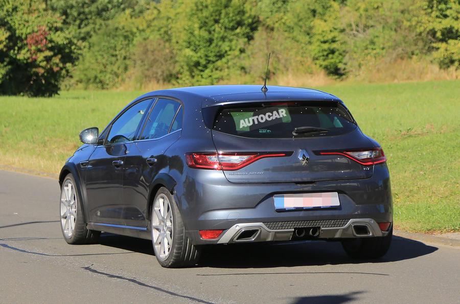 2018 renault megane sport. Delighful Sport 2018 Renault Sport Mgane To Get 300bhp And Mature Design Intended Renault Megane Sport