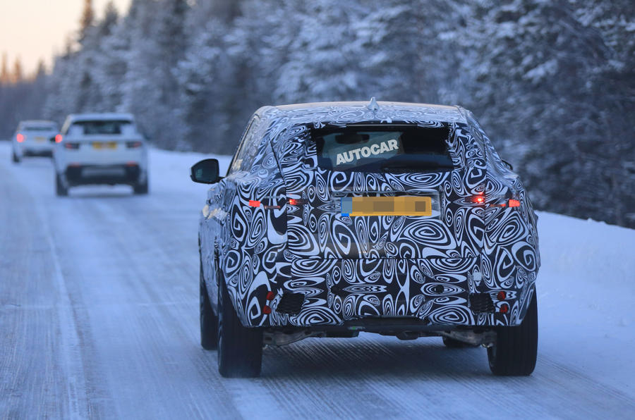 2017 Jaguar E-Pace spotted ahead of summer debut