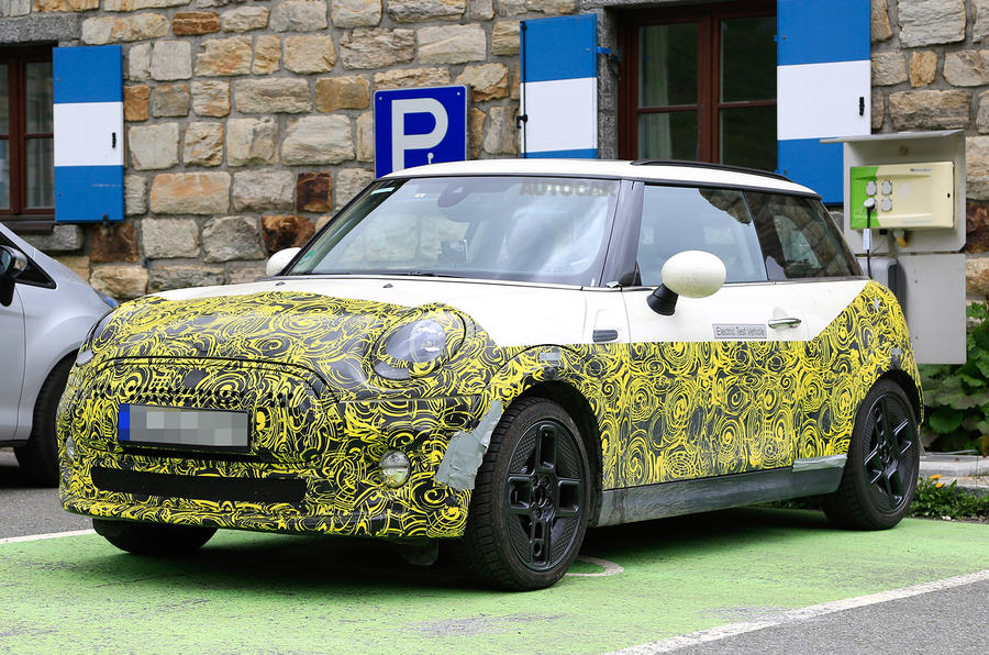 2019 Mini Electric First Official Pictures Autocar