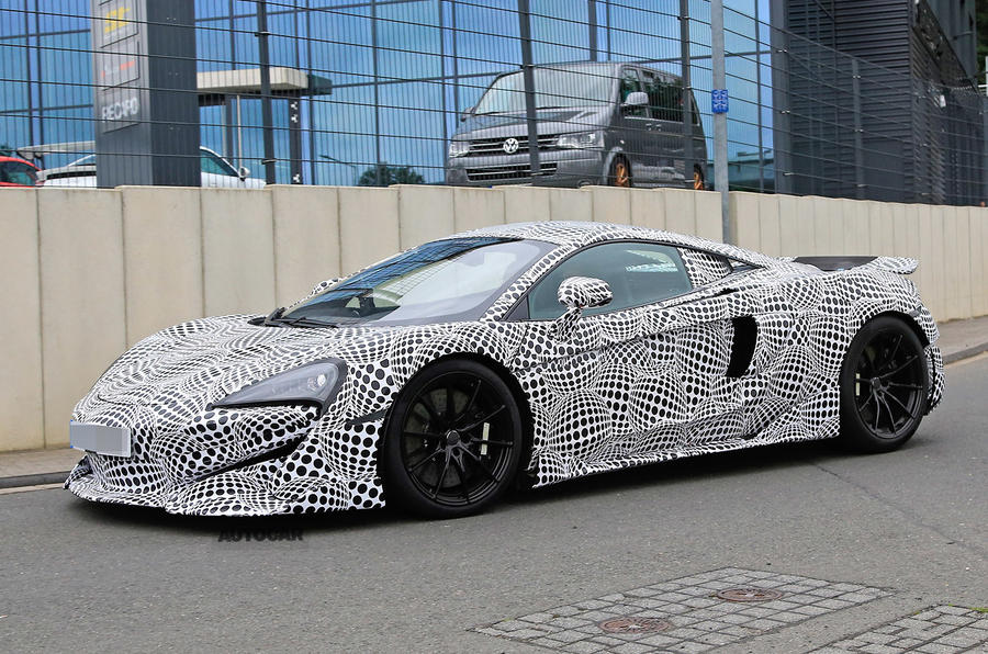 600bhp McLaren 600LT: first pictures of hardcore Sports Series model