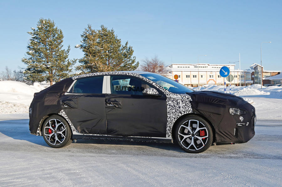 Hyundai i30 Fastback N tests ahead of 2019 launch