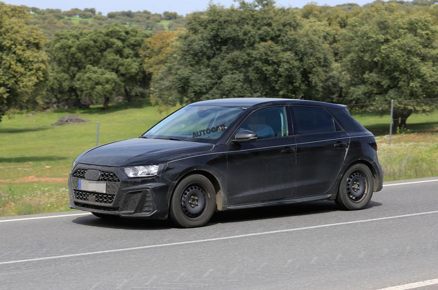 2019 Audi A1 New Shot Shows Production Bodywork For The