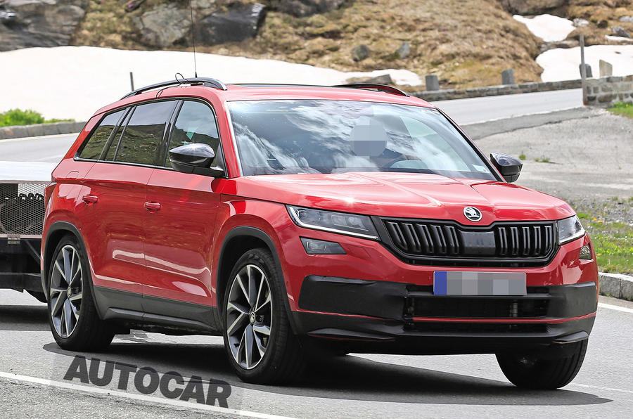 Skoda Kodiaq Vrs Sabine Schmitz A Day Out At The Nurburgring S