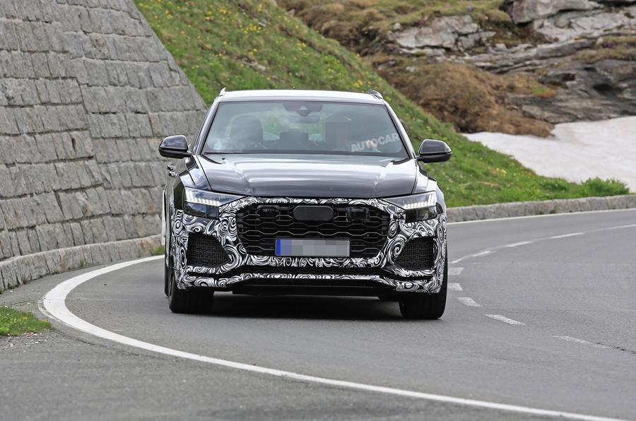 2020 Audi Q8: News, SQ8, RS Q8, Price >> 2019 Audi Rs Q8 New Pictures Of 670bhp Hybrid V8 Suv Autocar