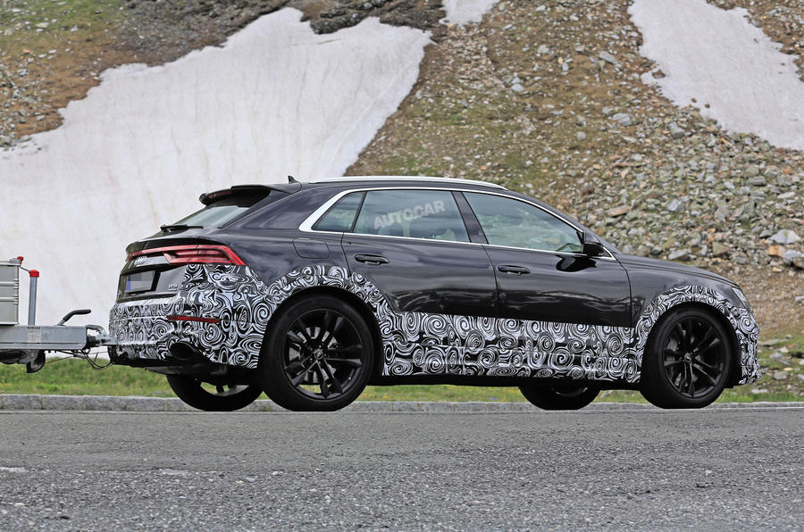 Audi RS Q8 due with 670bhp hybrid V8 powertrain