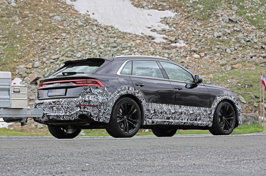 Audi SQ8 Sheds All of Its Camouflage in New Spy Shots