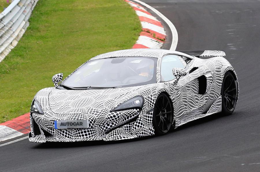 600bhp McLaren 600LT: first pictures of hardcore Sports Series model