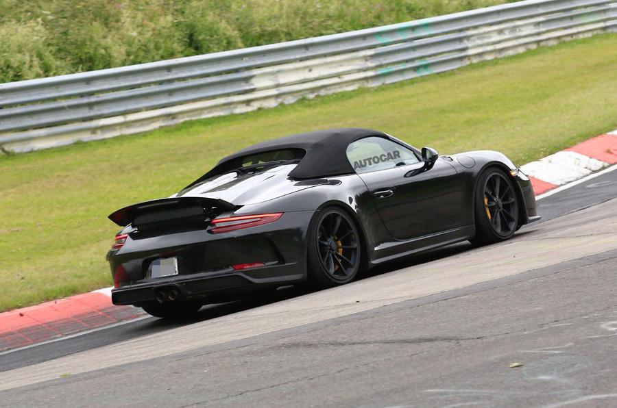 Next Porsche 911 Speedster to get hardcore GT3 running gear