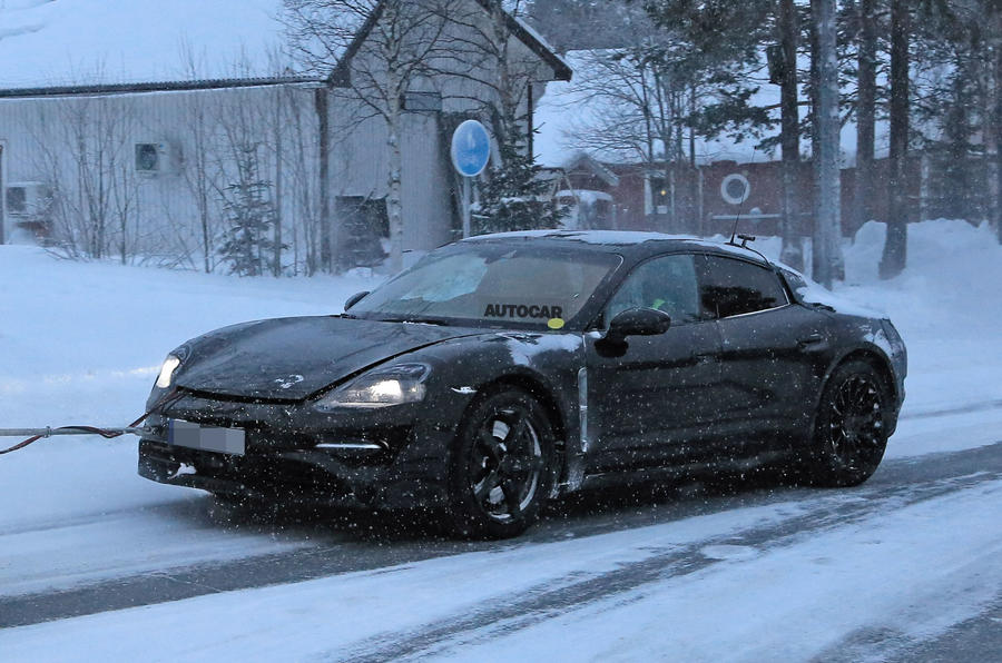 Porsche Taycan E due with level four autonomy and 15min fast-charging