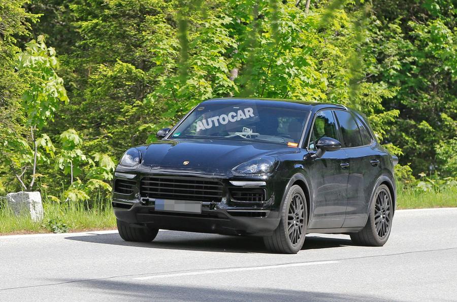 Porsche Cayenne prototype