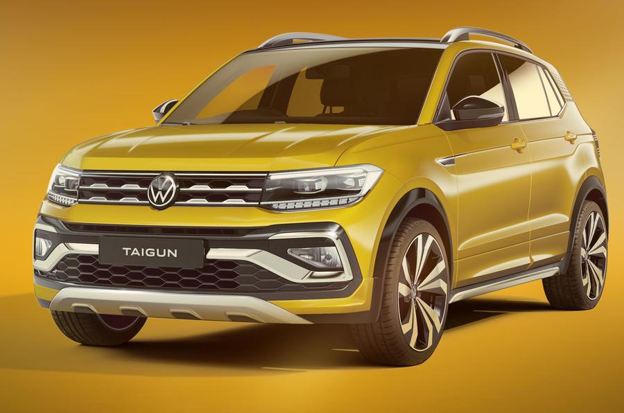 volkswagen launches new taigun crossover in india | autocar