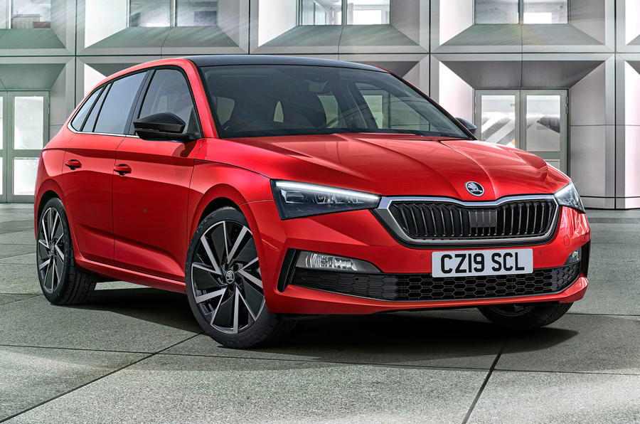 Skoda Scala reveal - press