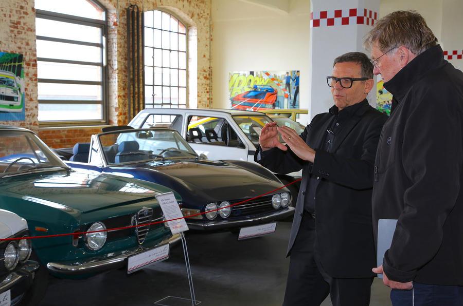 Peter Schreyer wins Sturmey Award at Autocar Awards