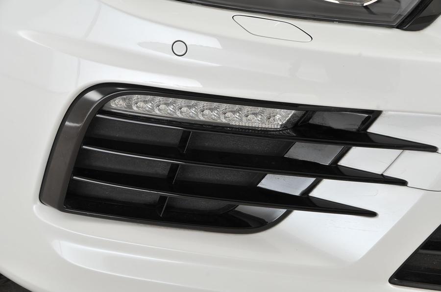 Volkswagen Scirocco R LED lights