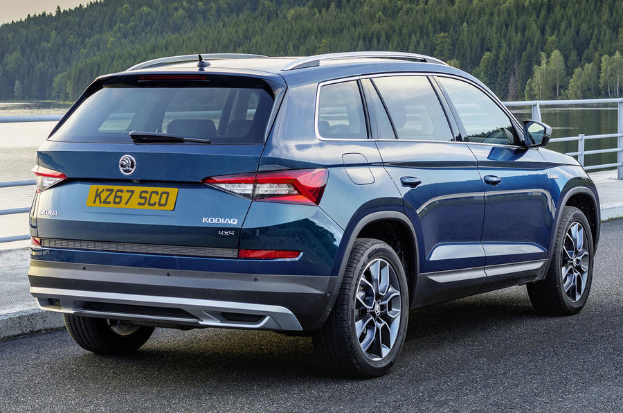 2017 Skoda Kodiaq Scout: more rugged model costs from £32,330