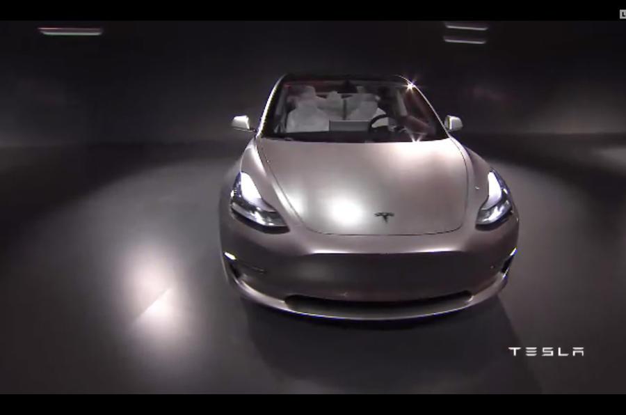 Tesla Model 3 reveal pics