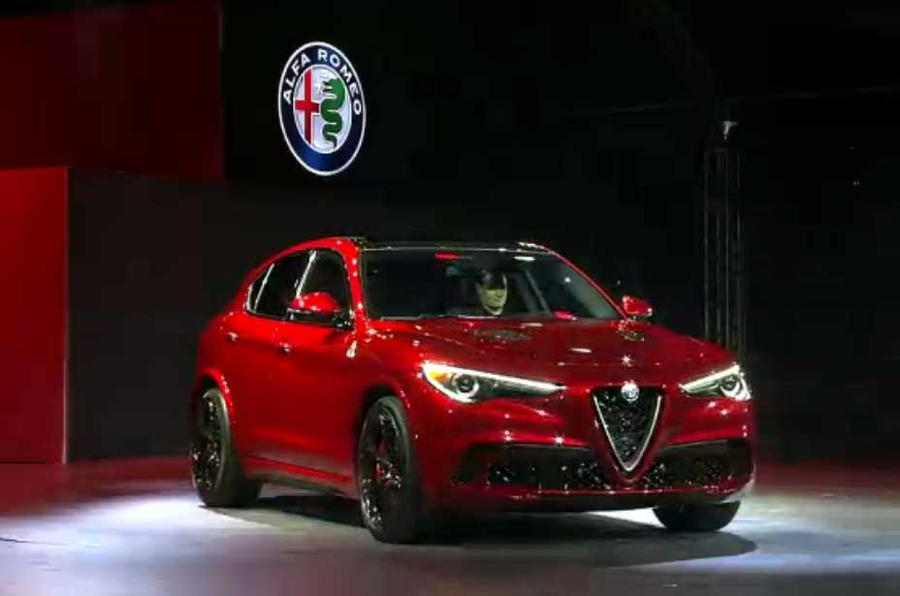 Alfa Romeo Stelvio SUV revealed in LA – new pictures