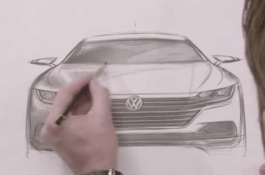 New Volkswagen Arteon - CC replacement shown for first time