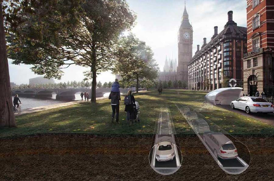 Innovative underground Cartube network could solve city traffic issues