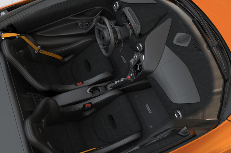Do not use the McLaren 720S configurator