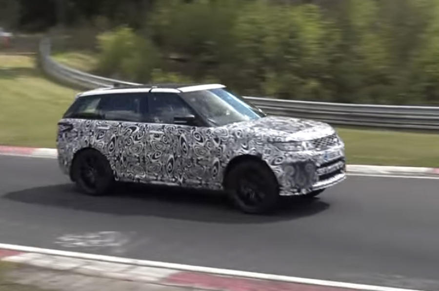 Range Rover Sport SVR front quarter