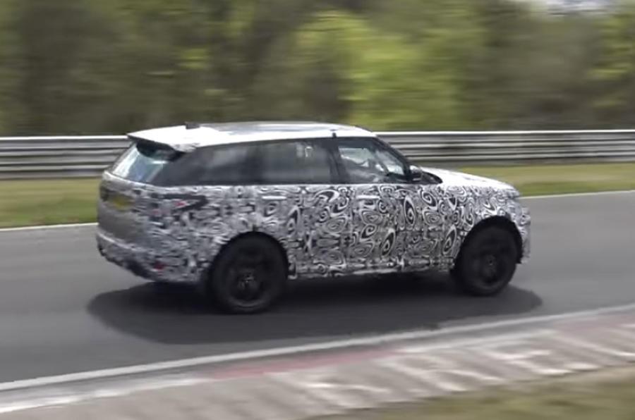 Range Rover Sport SVR rear quarter