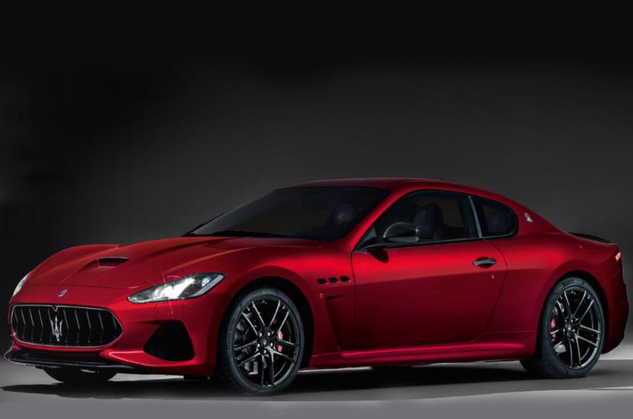 Updated Maserati Granturismo And Grancabrio Run At