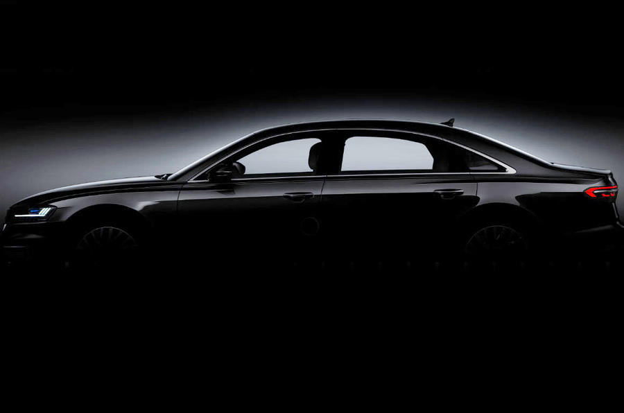 2017 Audi A8: brand's most high-tech model to be revealed tomorrow