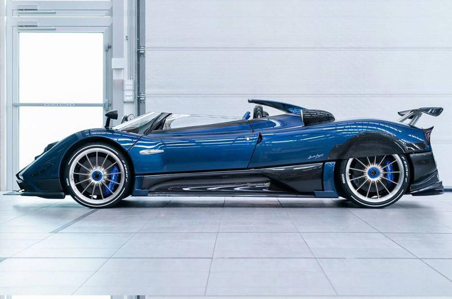Pagani Zonda HP Barchetta is ultra lightweight 'finale' model