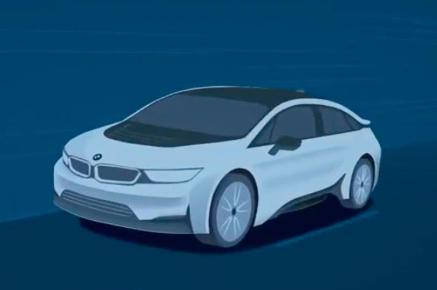 BMW's new electric vehicle concept boasts 100km launch of 4 seconds
